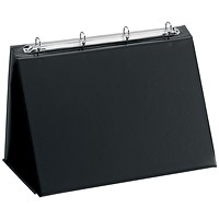 Easel Presenter, Collapsible Flip Over, Landscape, A3, Black