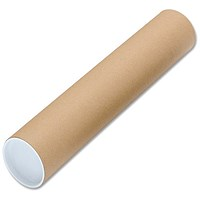 Cardboard Mailing Tubes, A2, L450xDia.50mm, Pack of 25