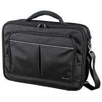Lightpak Executive Padded Laptop Bag, Multi-section, 17 inch Capacity, Nylon, Black