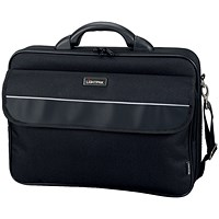 Lightpak Elite Large Laptop Case, 17 inch Capacity, Nylon, Black