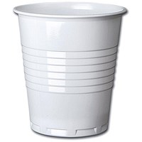 Plastic Vending Machine Cups for Hot Drinks, 200ml, Squat, Pack of 100