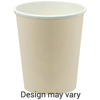 Paper Cup for Hot Drinks / 256ml / Pack of 50