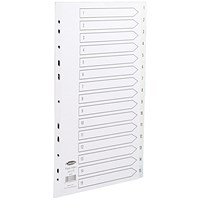 Concord Index Dividers, 1-15, A4, White