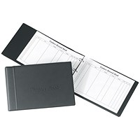 Concord CD14 Loose-Leaf Visitors Book / 230x335mm Binder with 50 Sheets / 2000 Entries