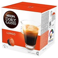 Nescafe Caffe Lungo for Nescafe Dolce Gusto Machine - 48 Capsules
