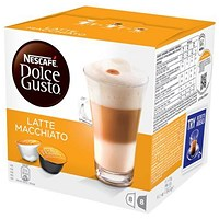 Nescafe Latte for Nescafe Dolce Gusto Machine - 24 Drinks (48 Capsules)