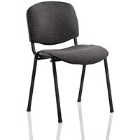Trexus Stacking Chair - Charcoal