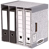 Fellowes Bankers Box System File Store Units / Pack of 5
