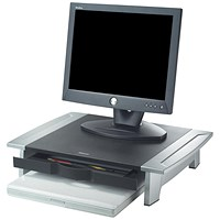 Fellowes Office Suites Monitor Riser / Small / Height-adjustable / 36kg Capacity