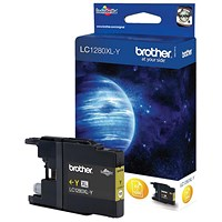 Brother LC1280XLY Yellow High Yield Inkjet Cartridge
