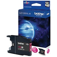 Brother LC1280XLM High Yield Magenta Inkjet Cartridge