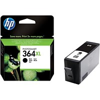 HP 364XL High Yield Black Ink Cartridge