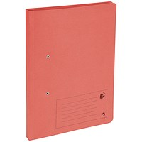 5 Star Transfer Files / 285gsm / Foolscap / Red / Pack of 50
