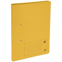 5 Star Transfer Files / 285gsm / Foolscap / Yellow / Pack of 50