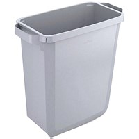 Durable Durabin Slim Bin, 60 Litre, Grey