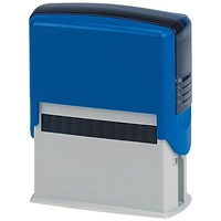 5 Star Custom Self-Inking Imprinter Stamp - 59x24mm (6 Lines of Text)
