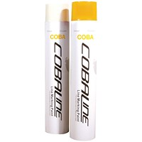 Cobaline Marking Spray CFC-free Fast-dry 750ml Yellow Ref QLL00007P [Pack 6]