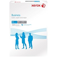 Xerox A4 Business Multifunctional Paper, White, 80gsm, Ream (500 Sheets)