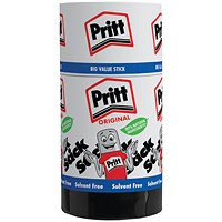 Pritt Stick Glue, Jumbo, 95g, Pack of 6
