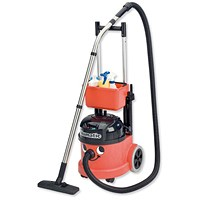 Numatic Pro Vacuum Cleaner, Twinflo Hepa-Flo Filtration, Retractable Handle