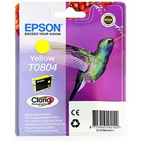 Epson T0804 Yellow Claria Inkjet Cartridge