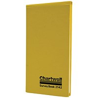 Chartwell Dimension Survey Book, 106x205mm, Weather Resistant, 80 Leaf