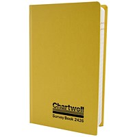 Chartwell Collimation Survey Book, 192x120mm, Weather Resistant, 80 Leaf