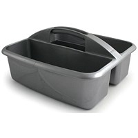 Plastic Cleaner's Caddy with Two Compartments
