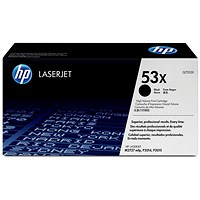 HP 53X Black Laser Toner Cartridge