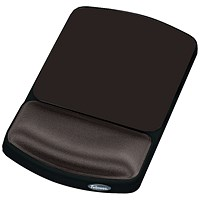 Fellowes Height-Adjustable Gel Mouse Pad - Graphite