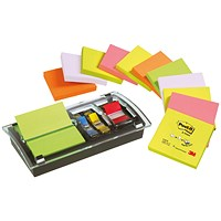 Post-it Note Value Pack, 76x76mm, Pack of 12 + Free Dispenser