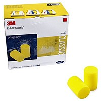 3M Ear Classic Earplugs Uncorded (Pack of 250) PP-01-002 GT600000522