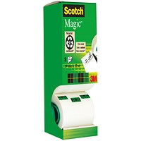 Scotch Magic Tape Value Pack, 19mm x 33m, Matt, 7 Rolls with 1 FREE Roll