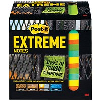 Post-it Notes Extreme 76 x 76mm Assorted (Pack of 12) EXT33M-12-UKSP