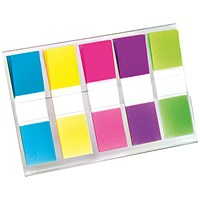 Post-it Small Index Portable pack, Bright Colours, Pack of 100
