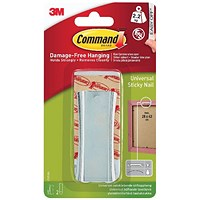 Command Universal Metal Picture Hanger 1HK+2S Large+4S Mini