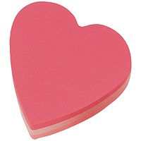 Post-it Heart Shaped Notes - Pack of 12