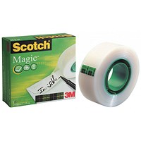 Scotch Magic Tape, 19mm x 33m, Matt