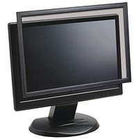 3M Privacy Screen, Protection Filter, Anti-Glare, Framed, Desktop, Widescreen LCD, 24 inch