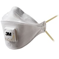 3M FFP1 Valved Fold-Flat Respirator 9312 (Pack of 10) GT500013260