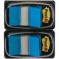 Post-it Index Tabs Dispenser with Blue Tabs (Pack of 2) 680-B2EU