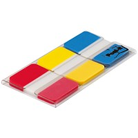Post-it Strong Index, Red, Yellow & Blue, Pack of 66