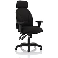 Influx Energize Aviator Armchair - Black