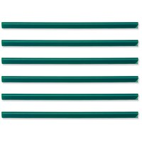 Durable Spinebar / 6mm / Up to 60 A4 Sheets / Green / Pack of 50