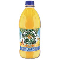 Robinsons Double Concentrate Orange Squash - 2 x 1.75 Litre Bottles