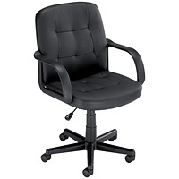 Influx Boss2 SoHo Managers Chair - Black