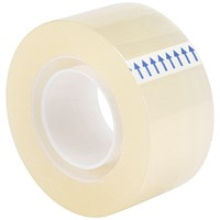 5 Star Small Clear Tape Rolls, 25mm x 33m, Pack of 6