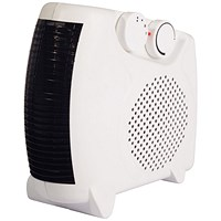 Igenix Fan Heater Adjustable Position 2 Heat Settings 2Kw