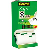 Scotch Magic Tape 12 rolls with 2 FREE rolls - 19mmx33m