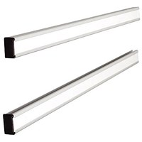 Nobo T-Card Link Bars - 1 Pair - Length 772mm (Holds panels up to Size 24)